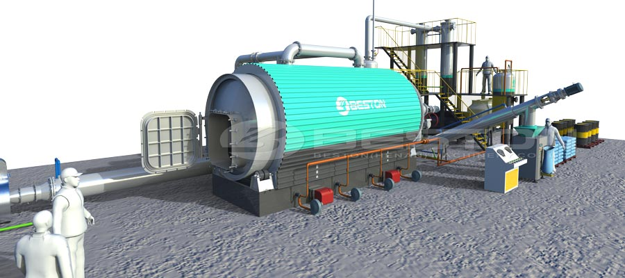 Plastic Recycling Pyrolysis Machine