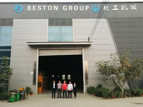 Russian Customers Visited Beston Group