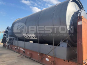 BLL-16 Tyre Pyrolysis Plant to South Africa