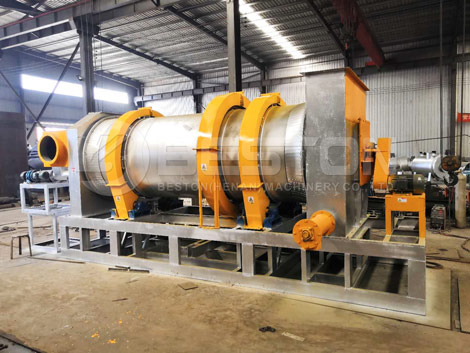 Biomass Charcoal Machine With New Design