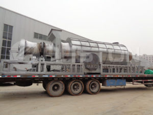 Coconut Shell Charcoal Machinery to Ghana