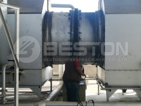 High Quality Sawdust Carbonization Machine