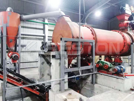 Installing BST-50 Charcoal Making Machine