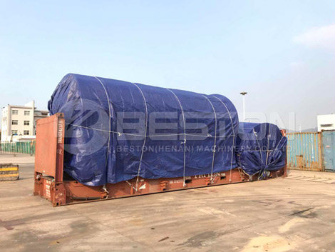 Pyrolysis Plant With Packing