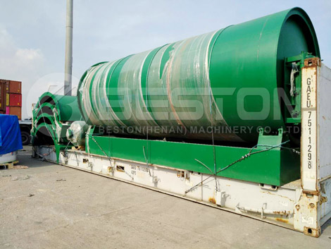 BLJ-10 Waste Tyre Recycling Plant