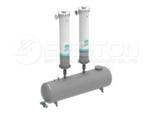 Oil condenser system