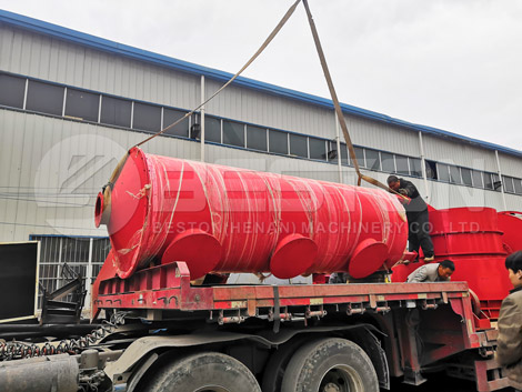 Beston Biochar Pyrolysis Plant To Russia