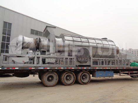 Biomass Pyrolysis Plant- Biochar Pyrolysis Machine for Sale