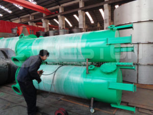 Carbonization Machine To Spain