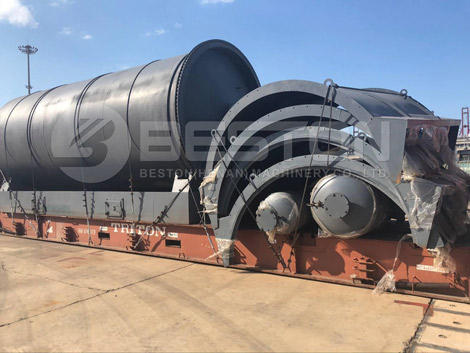 Waste Tyre Pyrolysis Oil Plant to South Africa