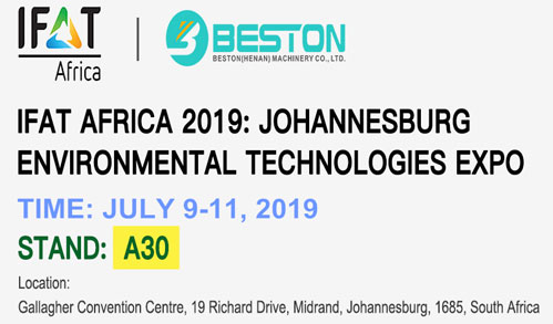 Beston Machinery Will Attend IFAT And Visit South Africa Customers in July