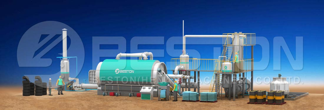 Beston Rubber Recycling Plant for Sale
