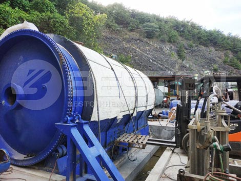 Rubber Recycling Equipment Manufactured by Beston