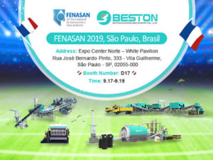 Beston Machinery Will Attend FENASAN Brazil In September