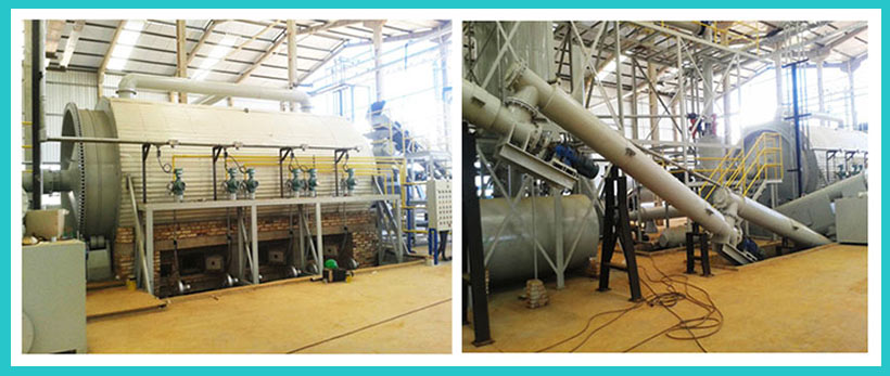 Beston Tyre Pyrolysis Recycling Plant Installed in Brazil