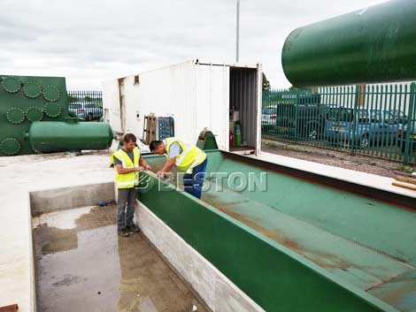 BLJ-16 Waste Tyre Pyrolysis Plant in United Kingdom