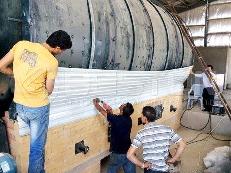 Installing Tyre Recycling Plant In Jordan