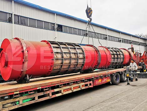 BST-30 Carbonization Machine To Russia