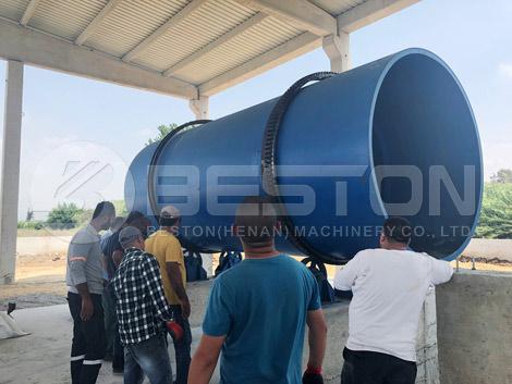 Rice Husk Charcoal Making Machine In Turkey