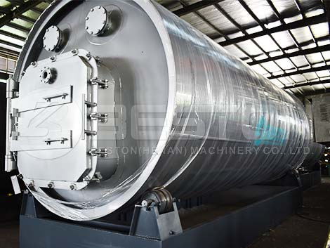 BLJ-16 Pyrolysis Plant to Indonesia