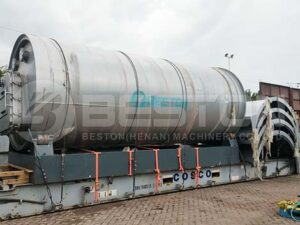 BLJ-16 Tyre Pyrolysis Plant to Indonesia