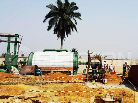 Tire Pyrolysis Machine In Nigeria