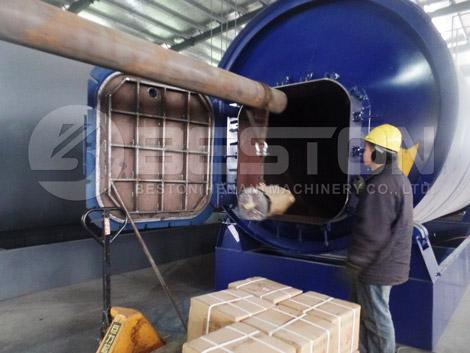 Tire Pyrolysis Reactor To Uganda