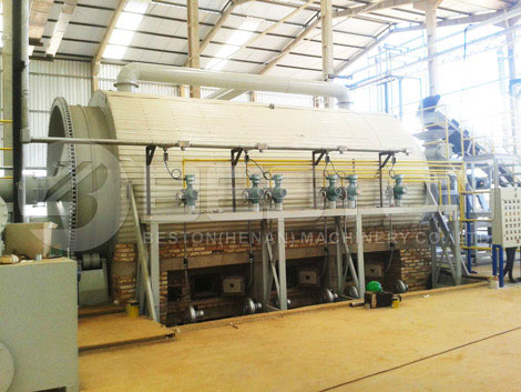 Tyre Recycling Machine Installed In Brazil
