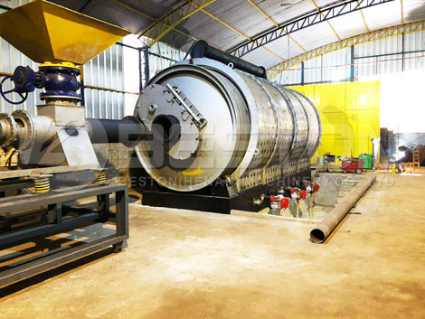 Tyre Recycling Plant In Paraguay