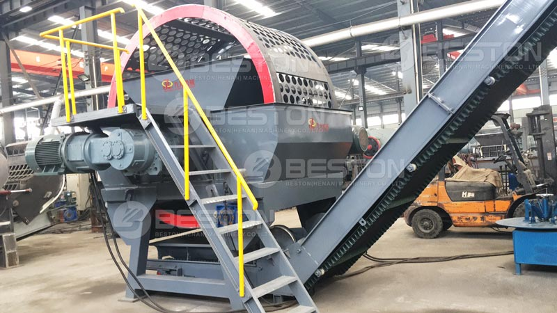 Beston Tyre Shredding Machine for Sale