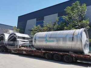 BLJ-16 Pyrolysis Plant Is Ready To Egypt