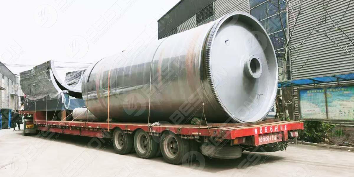 BLJ-16 Pyrolysis Plant to Saudi Arabia