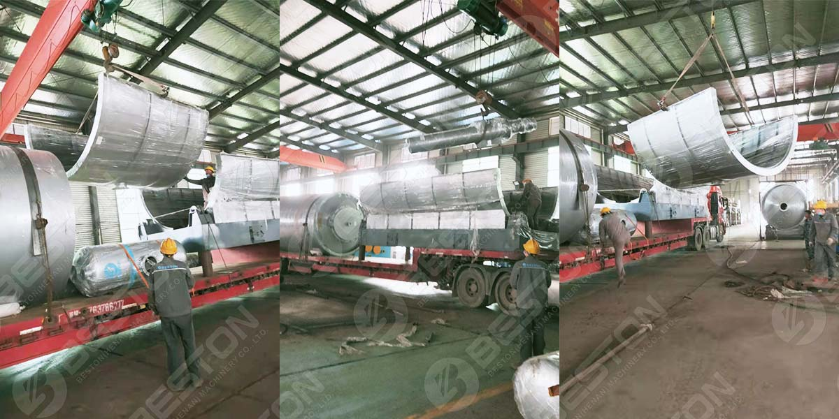 Spare Parts of Pyrolysis Plant to Saudi Arabia