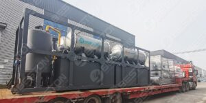 Beston BLJ-16 Pyrolysis Plant to Nigeria