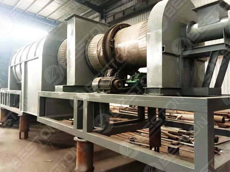 Rice Husk Carbonizer Machine to Brazil