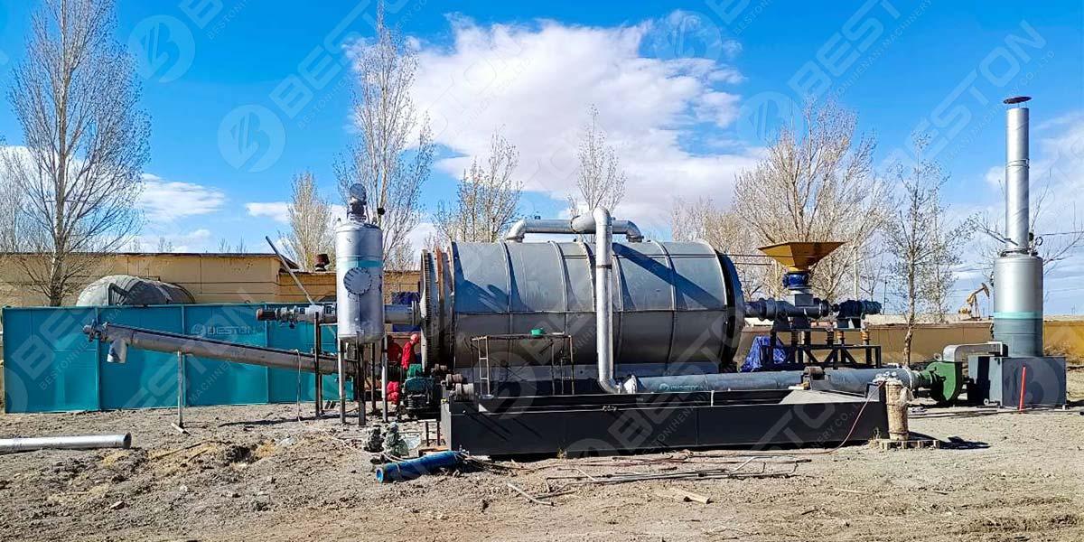 BLJ-16 Pyrolysis Plant to-Neimenggu Province