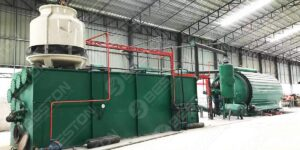 BLJ-16 Tyre Pyrolysis Plant in Philippines