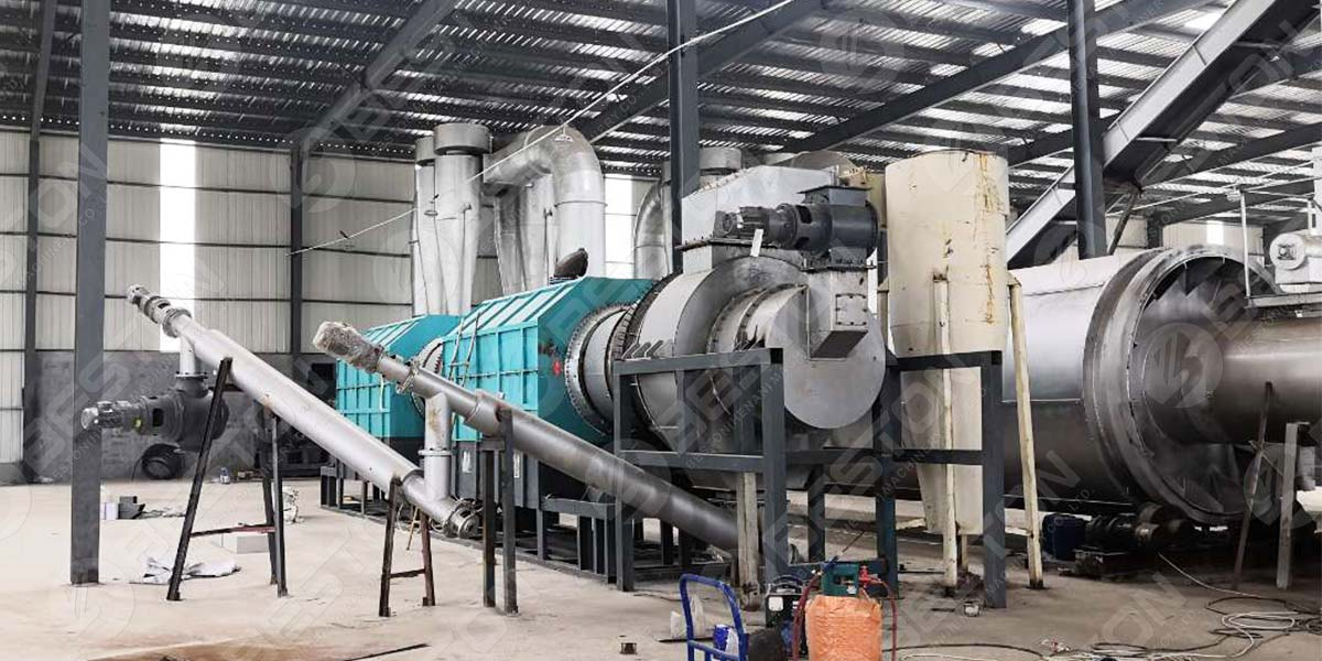 BST-10 Charcoal Machine Installed in China