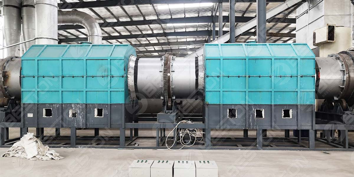 BST-10 Wood Chips Charcoal Machine to Lianyungang