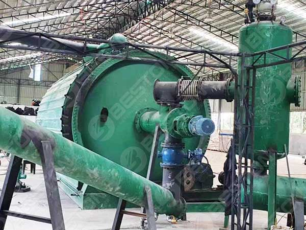Tyre Pyrolysis Plant in Philippines