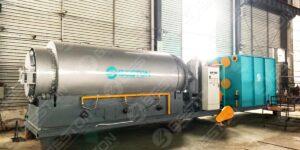 BLJ-3 Pyrolysis Plant to Paraguay