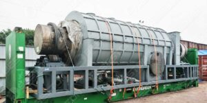 BST-20 Sawdust Charcoal Machine to Turkey