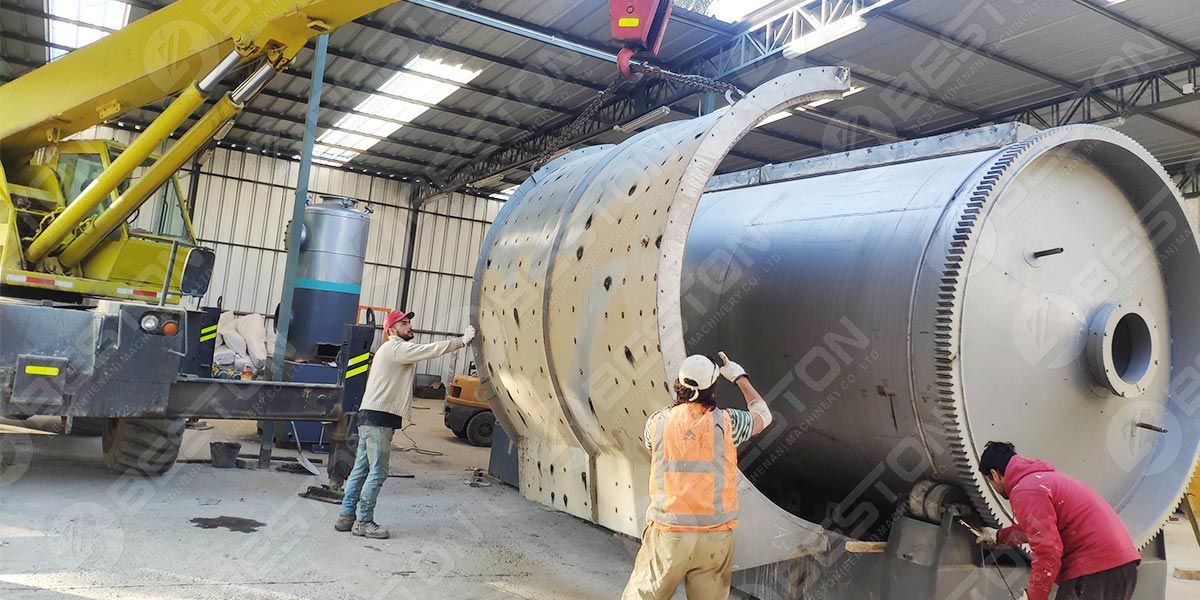 BLJ-10 Pyrolysis Plant in Chile