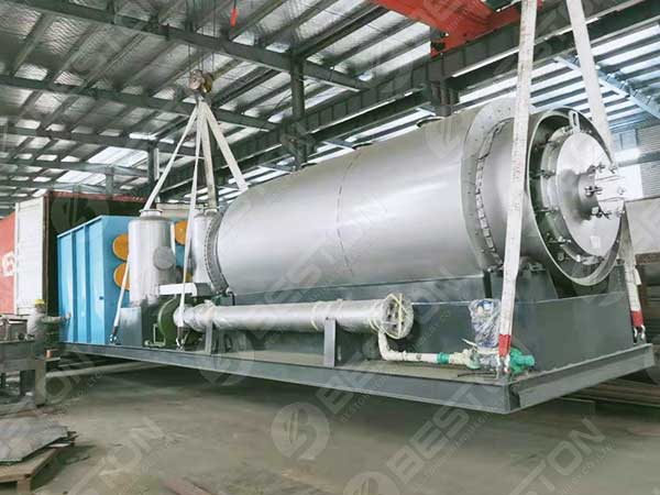 Mobile Pyrolysis Plant to Philippines