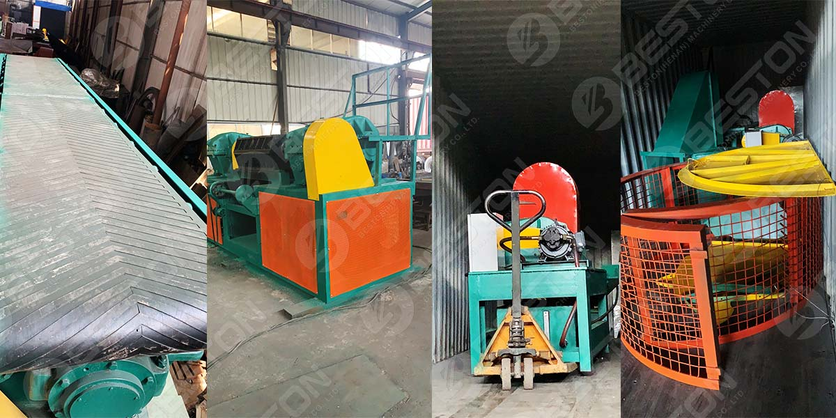 Accessories Of Tyre Shredder to Brazil