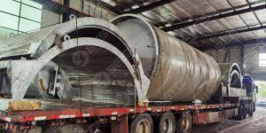 BLJ-12 Pyrolysis Plant to Nigeria