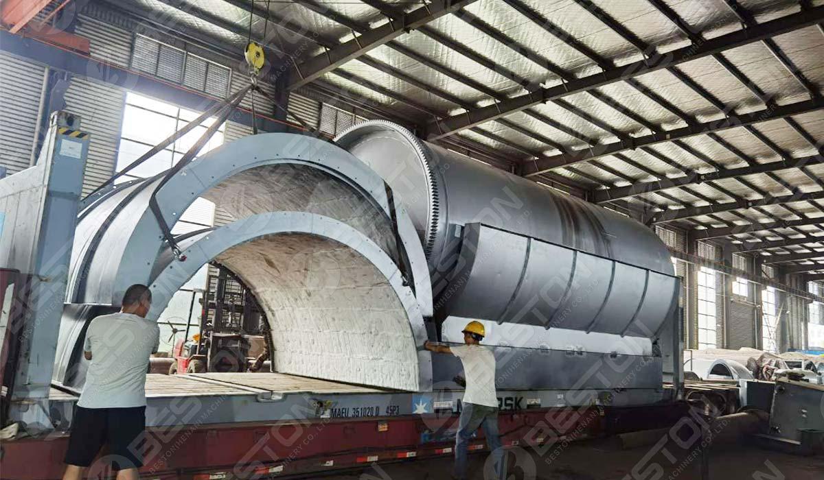 BST-J40 Charcoal Machine to Spain