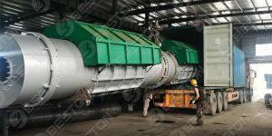 Beston Charcoal Making Machine to Cameroon