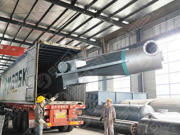Beston Cyclone Dust Collector to Spain