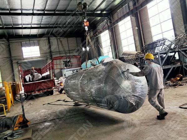 Beston Oil Tank to Nigeria